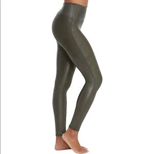 SPANX by Sarah Blakely, faux leather leggings